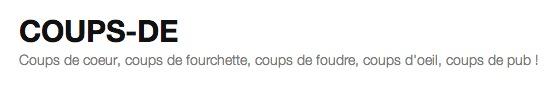 Coups-de